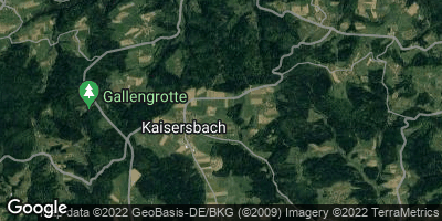 Google Map of Kaisersbach