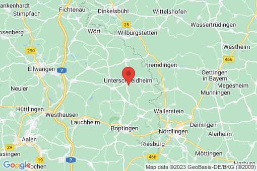 Karte Unterschneidheim