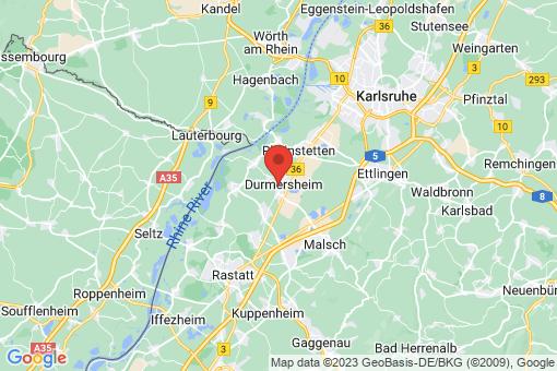 Karte Durmersheim