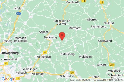 Karte Auenwald