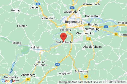 Karte Bad Abbach