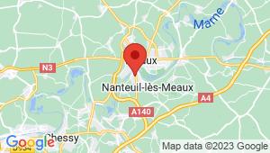 Carte de localisation du centre de contrôle technique MAREUIL LES MEAUX