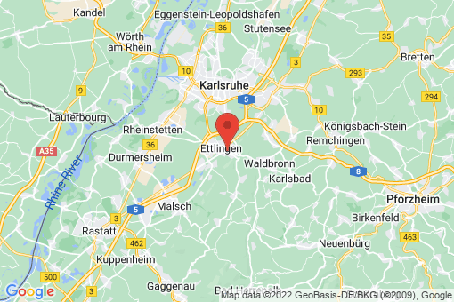 Karte Ettlingen