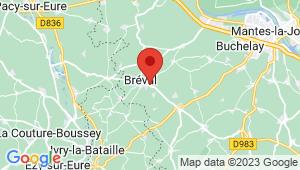 Carte de localisation du centre de contrôle technique NEAUPHLETTE