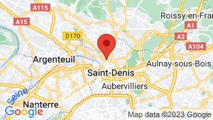 Carte de localisation du centre de contrôle technique SAINT DENIS