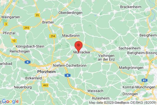 Karte Mühlacker