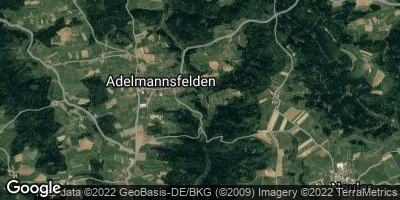 Google Map of Adelmannsfelden