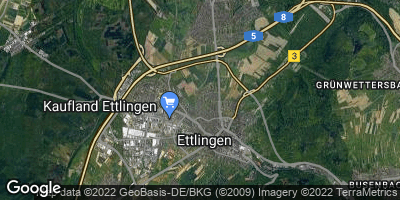 Google Map of Ettlingen
