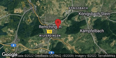 Google Map of Remchingen