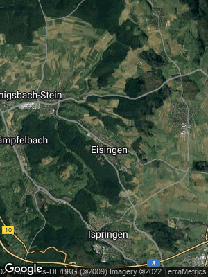 Google Map of Eisingen