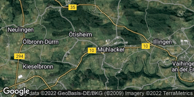Google Map of Mühlacker
