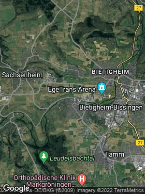 Google Map of Bissingen