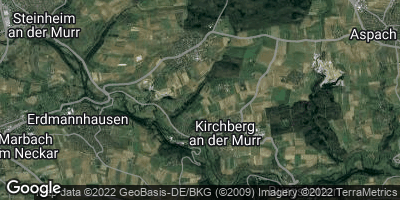 Google Map of Kirchberg