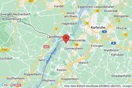 Karte Au am Rhein