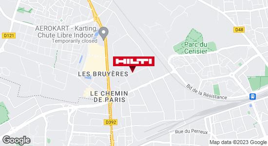 Get directions to Espace Hilti - La Plateforme du Bâtiment - Argenteuil