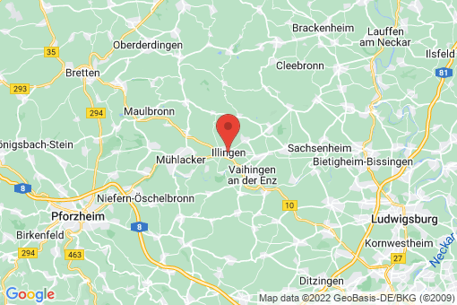 Karte Illingen