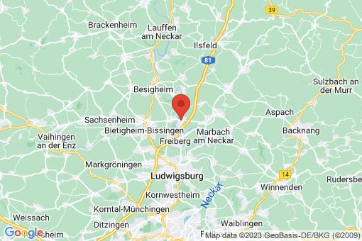 Karte Pleidelsheim