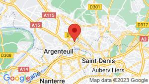 Carte de localisation du centre de contrôle technique SAINT GRATIEN