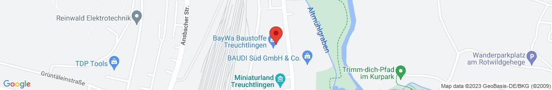 BayWa AG Treuchtlingen Anfahrt