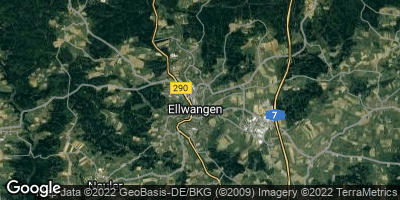 Google Map of Ellwangen