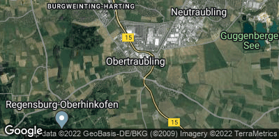 Google Map of Obertraubling
