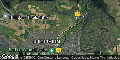 Google Map of Bietigheim-Bissingen