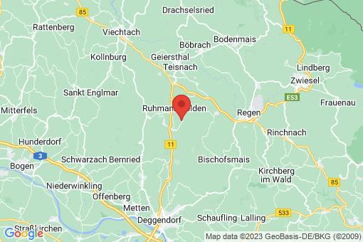 Karte Zachenberg