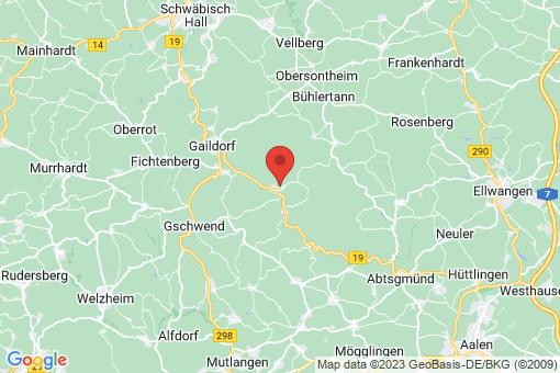 Karte Sulzbach-Laufen