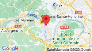 Carte de localisation du centre de contrôle technique TRIEL SUR SEINE