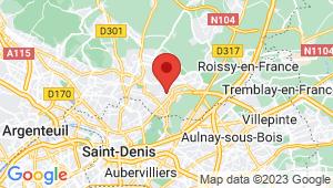 Carte de localisation du centre de contrôle technique GARGES LES GONESSE