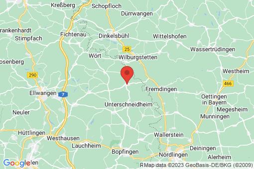 Karte Tannhausen