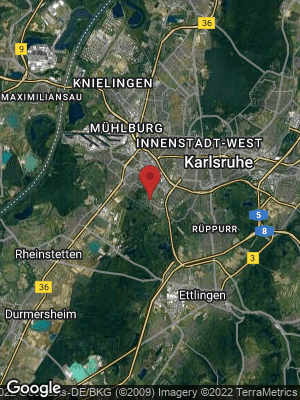 Google Map of Oberreut