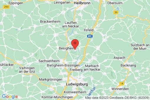 Karte Hessigheim