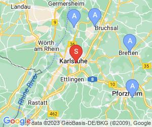 Karte für Zoo Karlsruhe