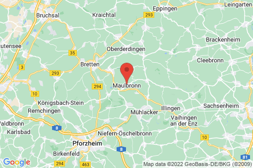 Karte Maulbronn