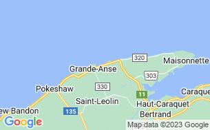 Map of Motel & Camping Baie des Chaleurs Ltd
