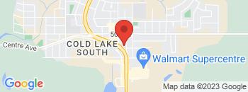 Google Map of 4802+-+50+Street%2CCold+Lake%2CAlberta+T9M+1P1