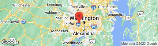 Map of 4806 25TH STREET N ARLINGTON, VA 22207