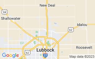 Map of Lubbock RV Park