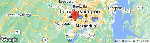 Map of 4819 PONDEROSA DRIVE ANNANDALE, VA 22003