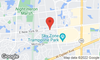 Map of 482 Betsy Ross Court AURORA, IL 60504