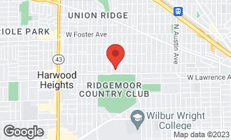 Map of 4822 North Natoma Avenue CHICAGO, IL 60656