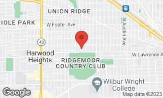 Map of 4824 North Natoma Avenue CHICAGO, IL 60656