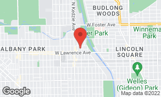 Map of 4836 North Albany Avenue CHICAGO, IL 60625