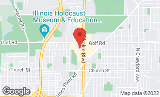 Map of 4840 Foster Street #410 SKOKIE, IL 60077
