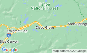 Map of Cisco Grove Campground & RV Park