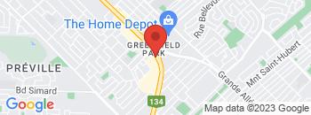 Google Map of 4844+boul+Taschereau%2CLongueuil%2CQuebec+J4V+2J2