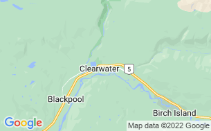 Map of Clearwater Country Inn & RV Park