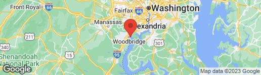 Map of 485 HARBOR SIDE STREET #100 WOODBRIDGE, VA 22191