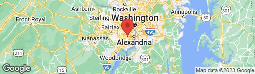 Map of 4860 EISENHOWER AVENUE #482 ALEXANDRIA, VA 22304